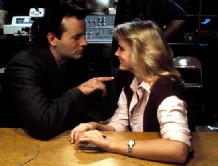 Jennifer Runyon & Bill Murray in Ghostbusters