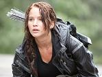 Jennifer as Katniss in The Hunger Games